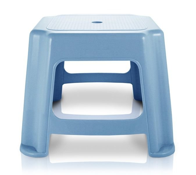 Jacki Design Banquinho Quadrado Cor Azul