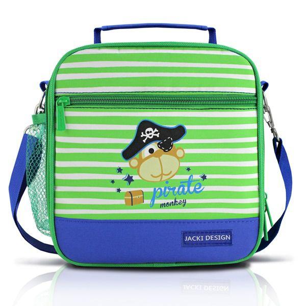 Jacki Design Lancheira Térmica Monkey Cor Azul