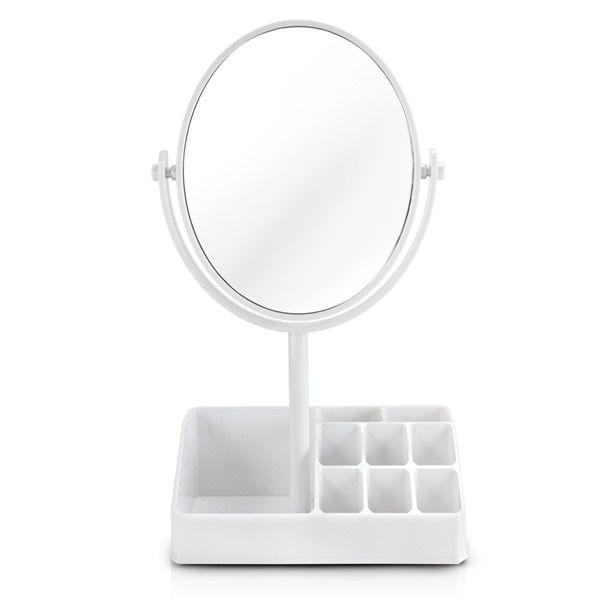 Jacki Design Espelho De Mesa Com Divisórias Cor Branco