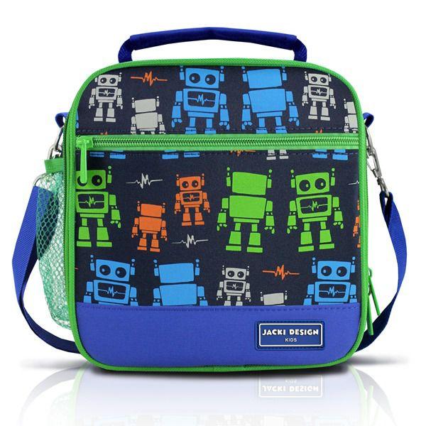 Jacki Design Lancheira Térmica Robô Cor Azul
