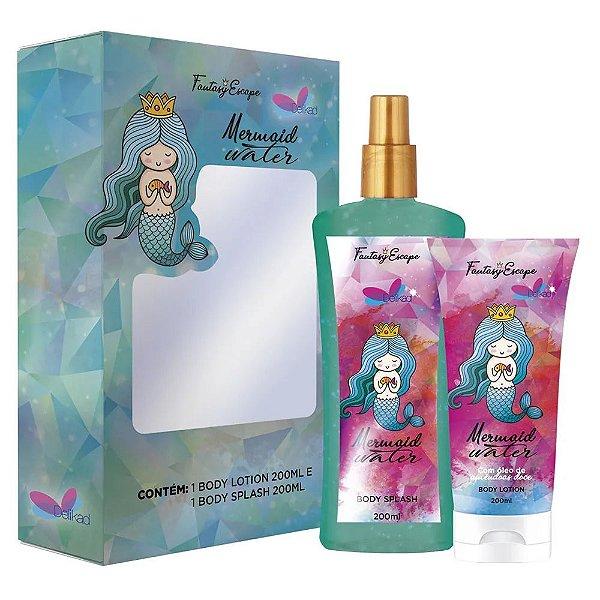 Delikad Fantasy Kit Sereia Body Splash + Body Lotion 200ml