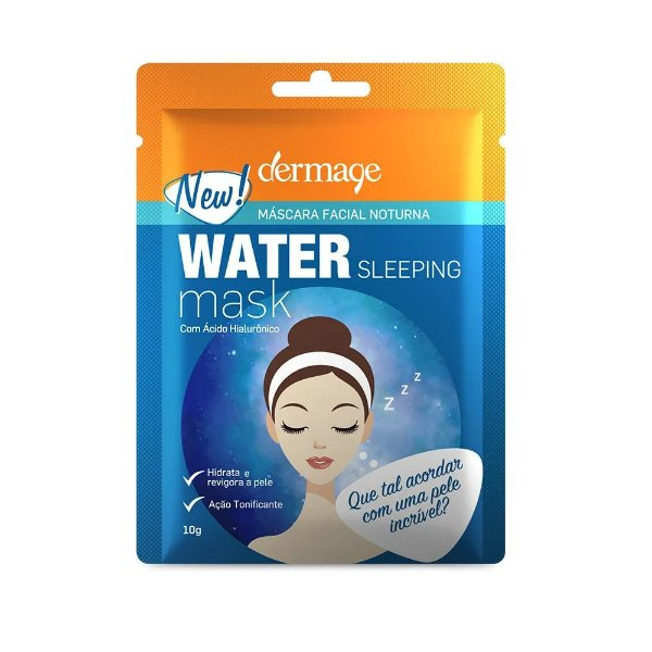 Dermage Water Sleeping Mask Máscara Facial Noturna 10g