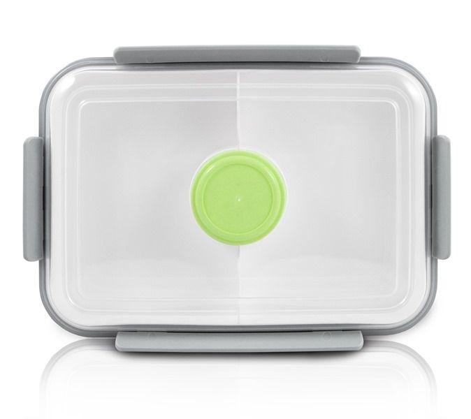 Jacki Design Pote Marmita Com 3 Compartimentos Cor Verde 1400ml