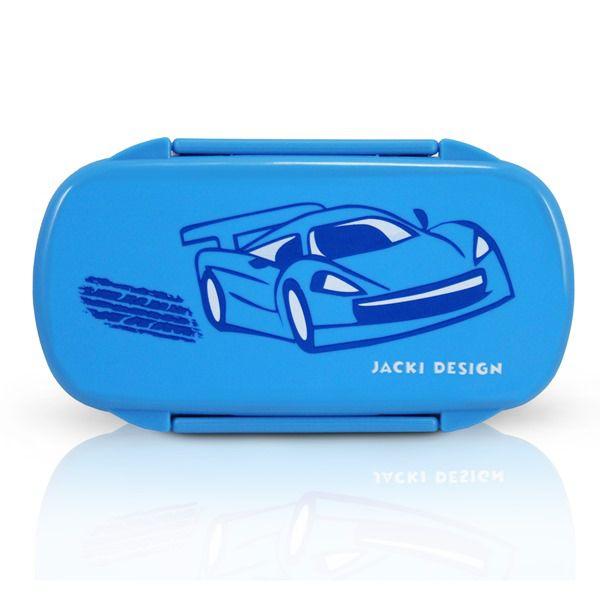 Jacki Design Pote Para Lanche Carro Cor Azul Claro