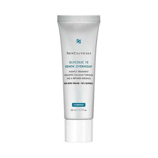 SkinCeuticals Glycolic 10 Renew Overnight Creme Anti-idade 50ml
