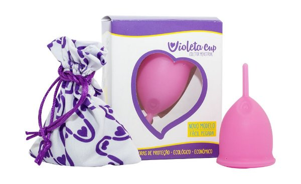 Violeta Cup Coletor Menstrual Tipo A Rosa