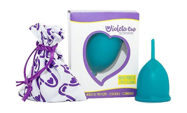 Violeta Cup Coletor Menstrual Tipo A Verde