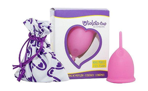 Violeta Cup Coletor Menstrual Tipo B Rosa