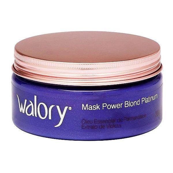Walory Máscara Professional Power Blond Platinum 200g