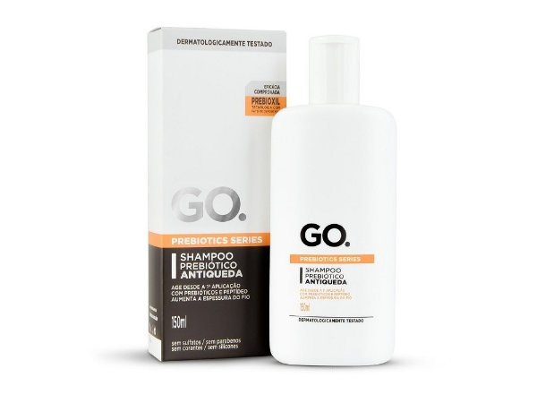 Go Shampoo Prebiótico Antiqueda 150ml