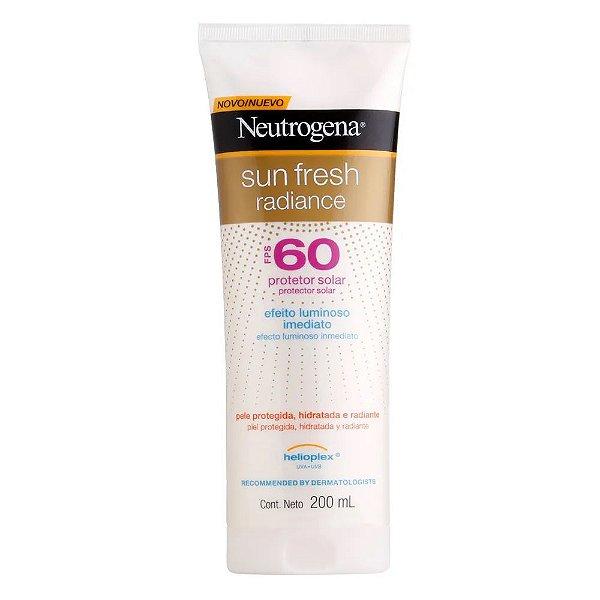 Neutrogena Protetor Solar Sun Fresh Radiance FPS60 200ml