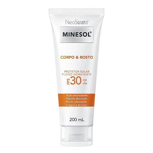 Neostrata Minesol Protetor Corpo e Rosto FPS30 200ml