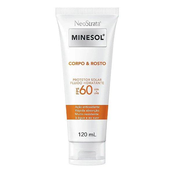 Neostrata Minesol Protetor Corpo e Rosto FPS60 120ml