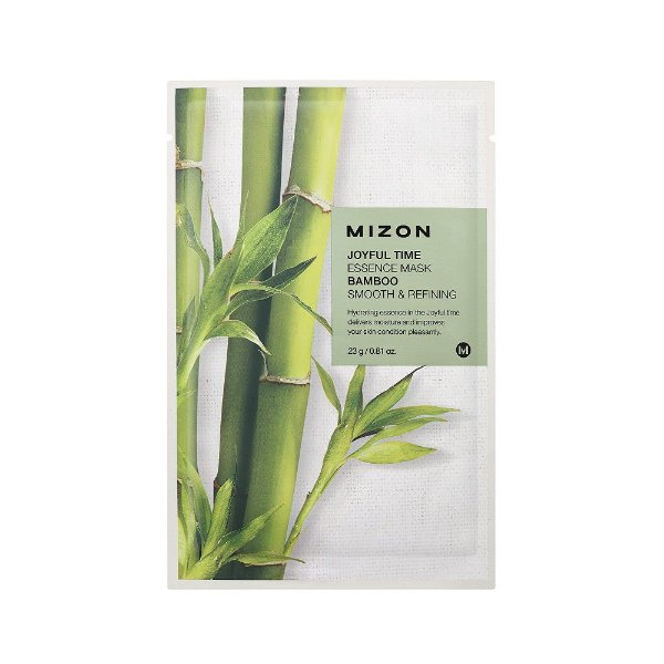 Mizon Máscara Facial Joyful Time Essence Bamboo 23g