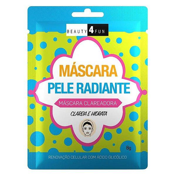 Beauty 4 Fun Máscara Pele Radiante Clareadora 8g