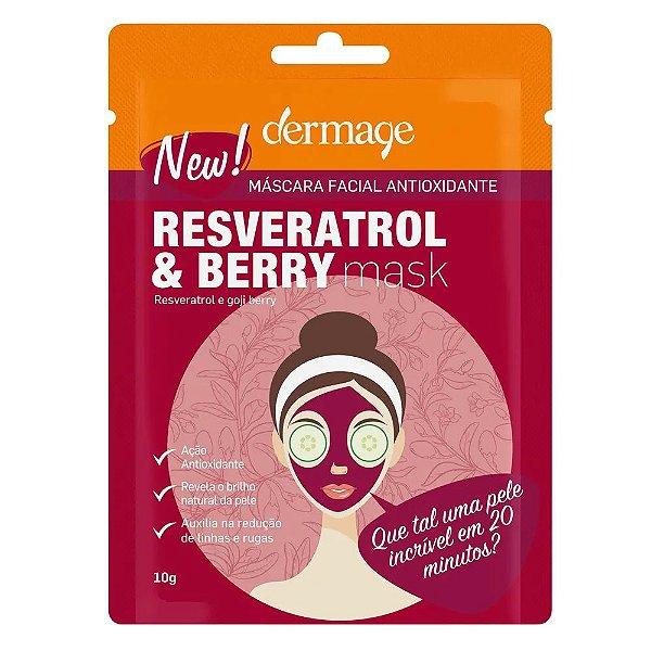 Dermage Resveratrol E Berry Mask 10g