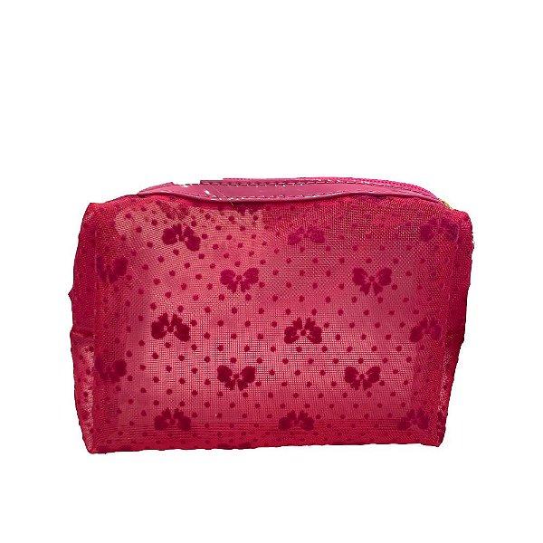 Fizz Necessaire Bau Flocada Rosa