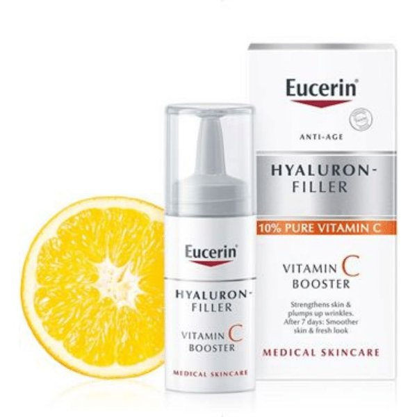 Eucerin Hyaluron Filler Vitamina C Booster Anti-idade 8ml