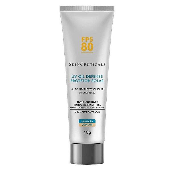 Skinceuticals Protetor Solar UV Oil Defense com Cor SPF80 40g