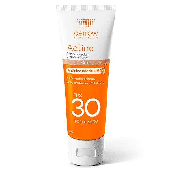 Darrow Actine Protetor Solar com cor Antioleosidade Fps30 40g