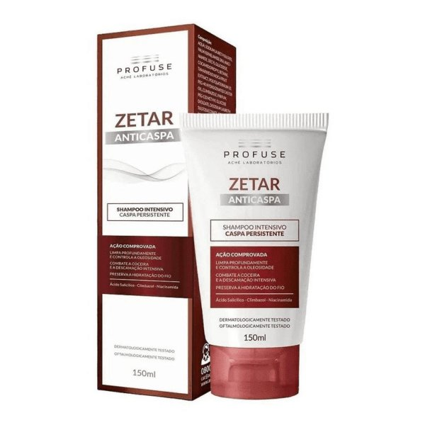 Profuse Zetar Shampoo Anticaspa Intensivo 150ml
