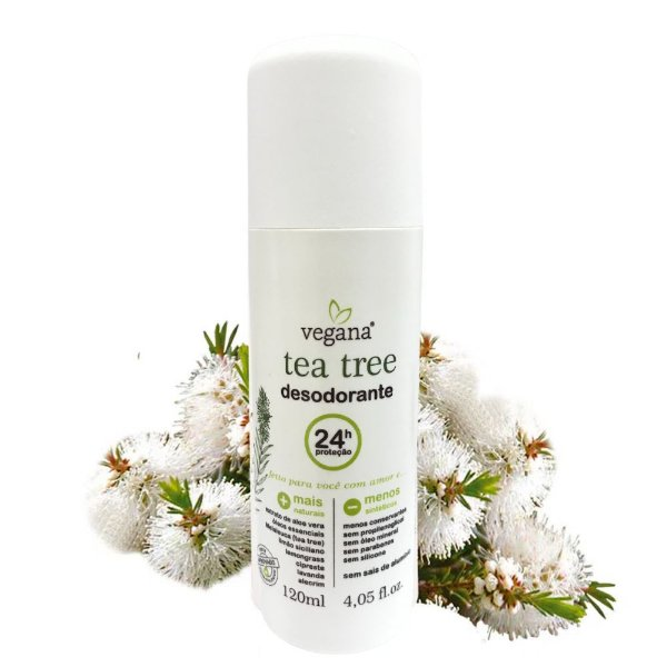 Vegana Desodorante Corporal Tea Tree 120ml