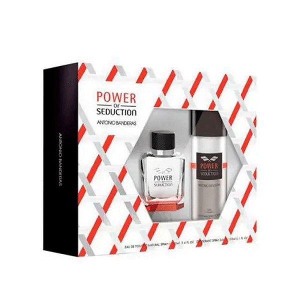 Antonio Banderas Kit Power Of Seduction Perfume Masculino 100ml + Desodorante 150ml