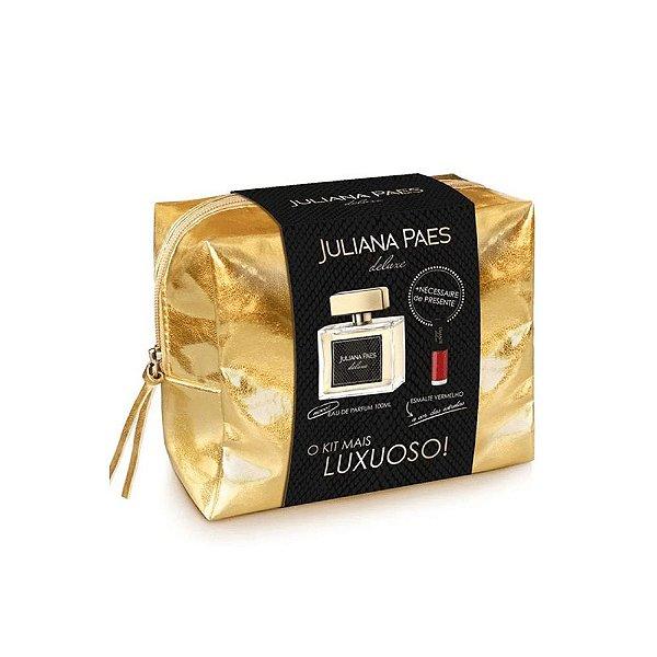 Juliana Paes Kit Deluxe Deo Perfume Feminino Eau de Toilette 100ml + Esmalte 6ml
