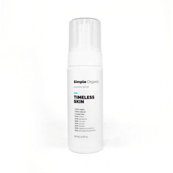 Simple Organic Espuma Facial Timeless Skin 150ml