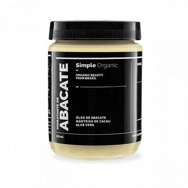 Simple Organic Hidratante Abacate 150ml
