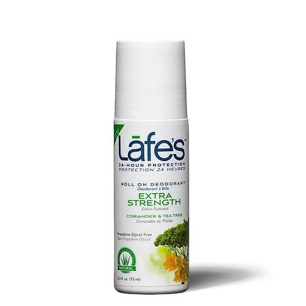 Lafes Desodorante Roll-On Extra Strength Coriander e Tea Tree 88ml