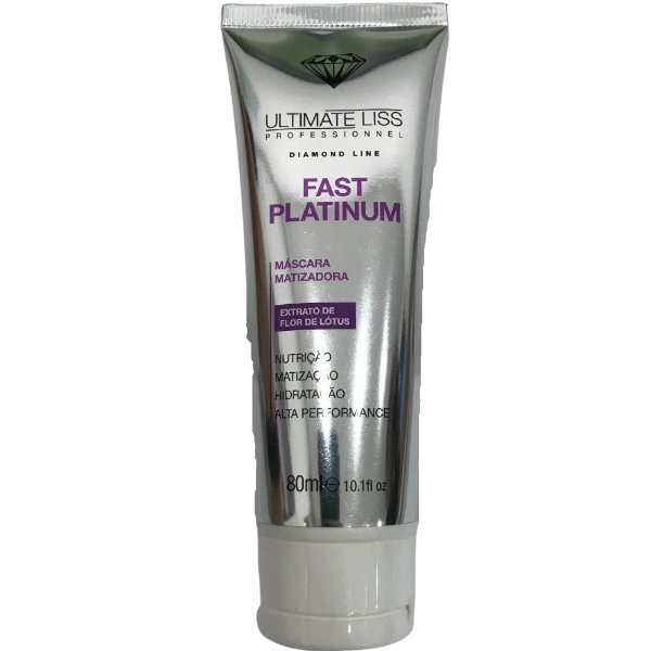 Ultimate Liss Fast Platinum Máscara Matizadora 80ml