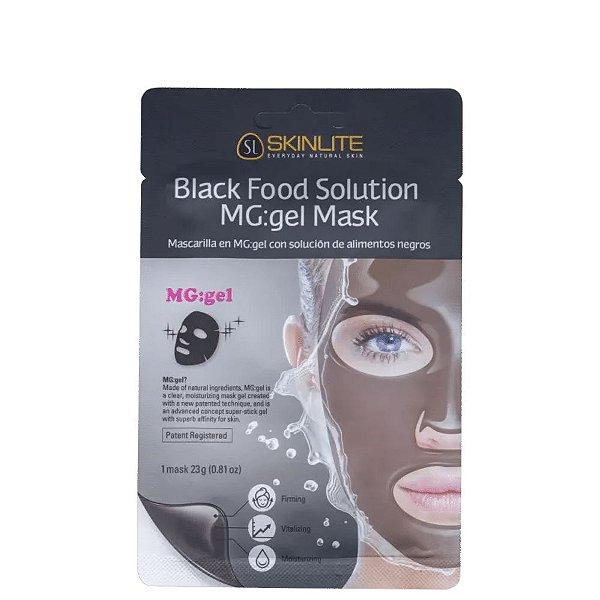 Skinlite Máscara Mg:Gel com Solução de Alimentos Pretos