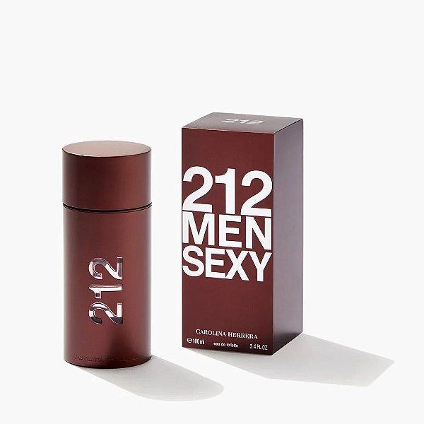 Carolina Herrera 212 Sexy Men Perfume Masculino Eau de Toilette 100ml