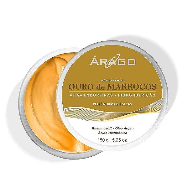 Árago Máscara Facial Ouro de Marrocos 150g