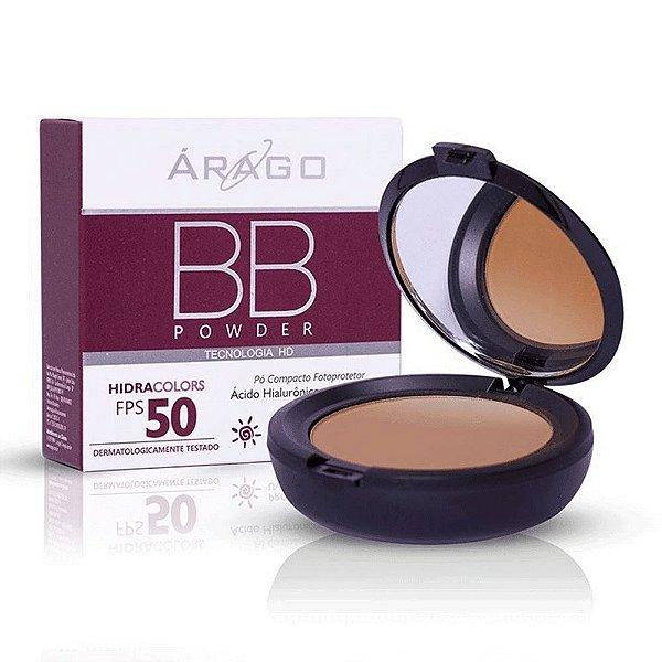 Árago BB Powder Hidracolors FPS 50 Bronze 12g