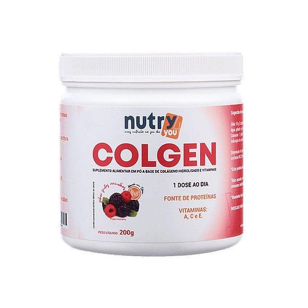 Nutry4You Colágeno Colgen Frutas Vermelhas 200g