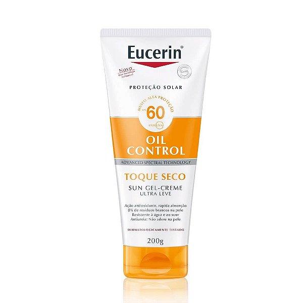 Eucerin Sun Oil Control Toque Seco Fps 60 Corporal 200g