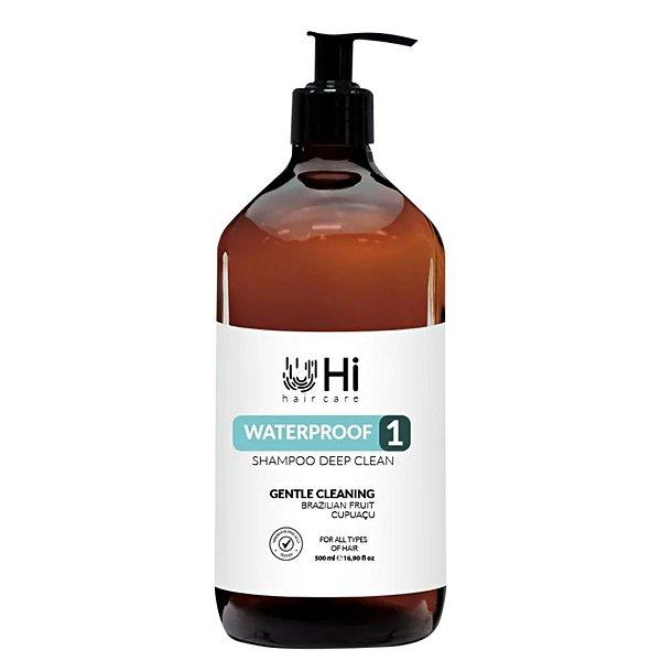 Hi Hair Care Waterproof 1 Shampoo Deep Clean 500ml