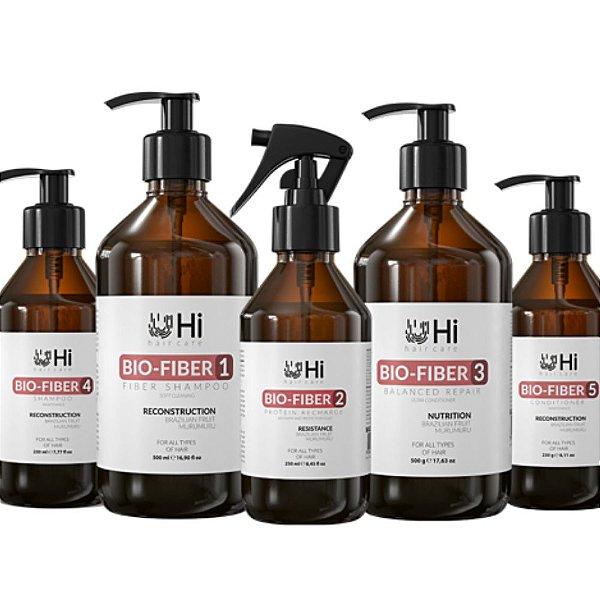 Hi Hair Care Kit Bio Fiber 5 Passos