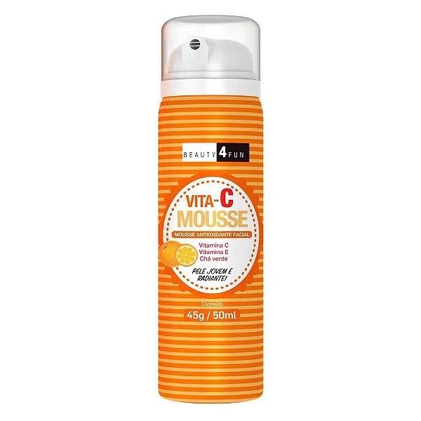 Beauty 4 Fun Vita-C Mousse Antioxidante Facial 50ml