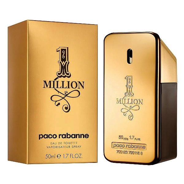 Paco Rabanne 1 Million Perfume Masculino Eau de Toilette 50ml