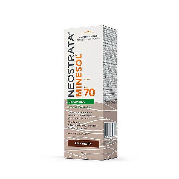 Neostrata Minesol Oil Control Protetor Solar Pele Negra FPS70 40g