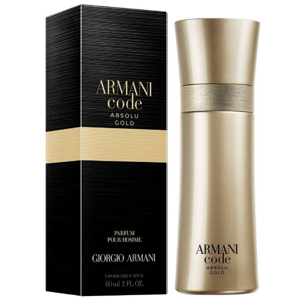 Giorgio Armani Code Absolu Gold Perfume Masculino Eau de Parfum 60ml