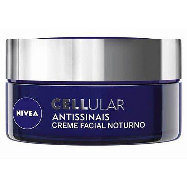 Nivea Cellular Filler Antissinais Creme Facial Noturno 51g