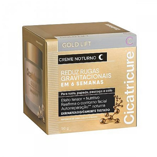 Cicatricure Gold Lift Creme Noturno 50g