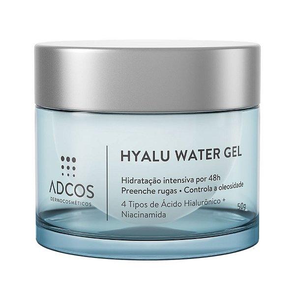 Adcos Hyalu Water Gel Hidratante Facial Rejuvenescedor 50g