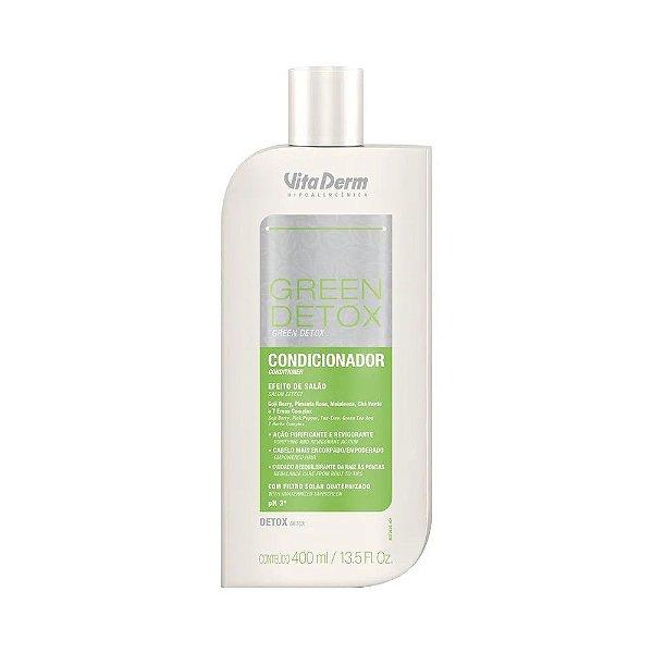 Vita Derm Condicionador Green Detox 400ml VAL 04/21