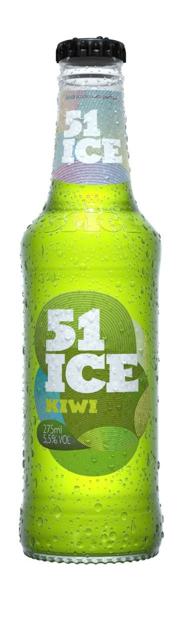 51 Ice Kiwi Long Neck 275ml PC com 6un