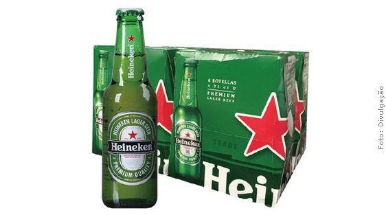 Cerveja Heineken LongNeck CX24UND 330ml